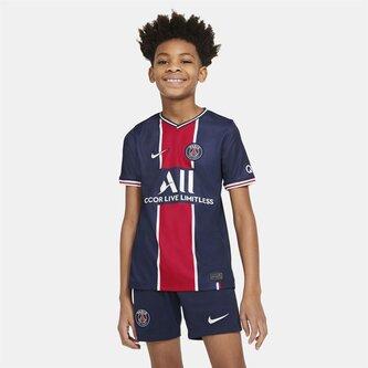 Paris Saint Germain Home Shirt 20/21 Kids