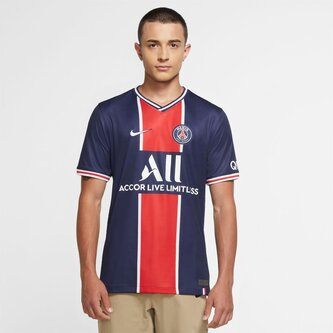 Paris Saint Germain Home Shirt 20/21 Mens