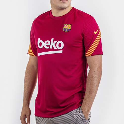 FC Barcelona Strike T-Shirt 20/21 Mens