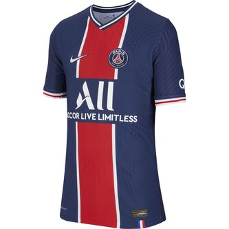 Paris Saint Germain Vapor Home Shirt 20/21 Kids
