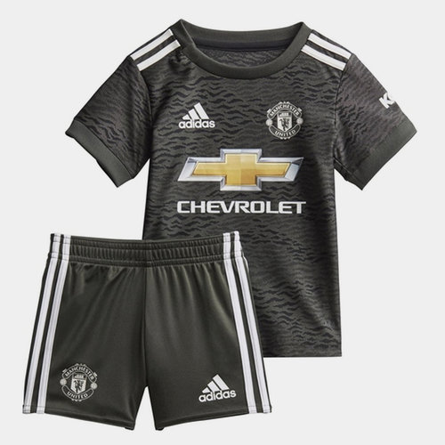 Manchester United Away Baby Kit 20/21