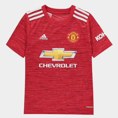 Manchester United Home Shirt 20/21 Kids