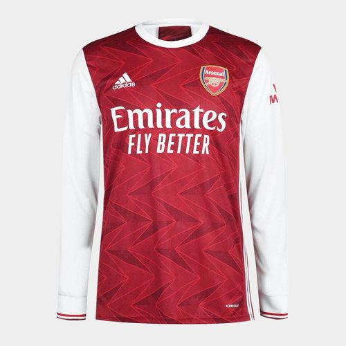 Arsenal Home Long Sleeve Shirt 2020 2021