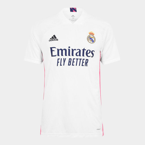 Real Madrid Home Shirt 20/21 Mens