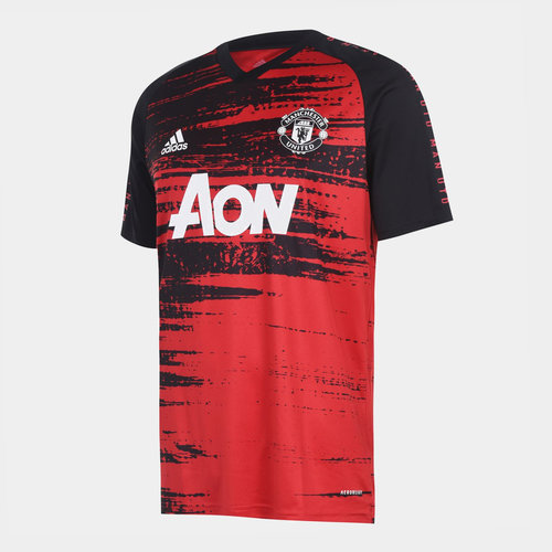 Manchester United Pre Match Shirt 20/21 Kids