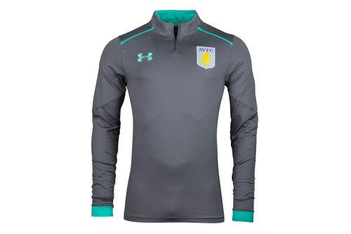 Aston Villa 17/18 1/4 Zip Football Training Top