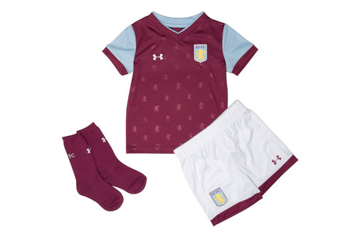 Aston Villa 17/18 Kids Home Football Replica Kit