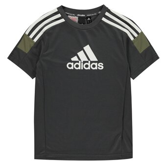 Tri Colour T Shirt Junior Boys