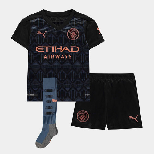 Manchester City Away Mini Kit 20/21