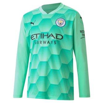 Puma Manchester City Home Goalkeeper Shirt Kids 20/21