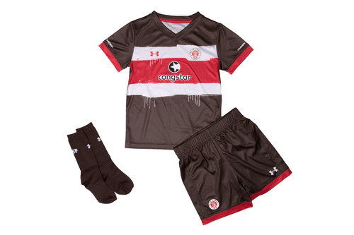 FC St Pauli 17/18 Kids Home Football Replica Kit