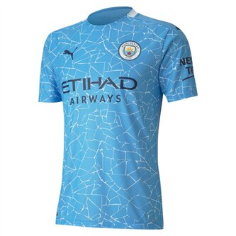 Manchester City Authentic Home Shirt 20/21 Mens