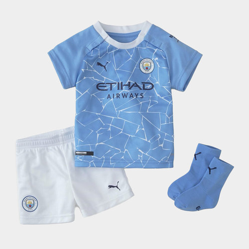 Manchester City Home Baby Kit 20/21