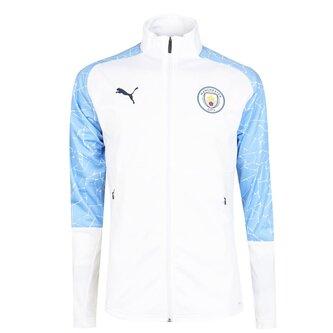 Manchester City Stadium Jacket 20/21 Mens