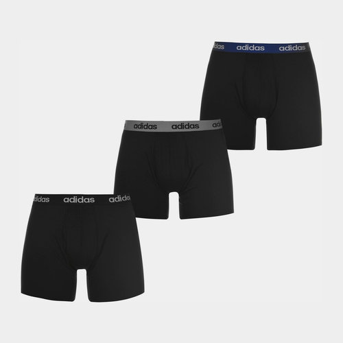 3 Pack Performance Boxer Shorts Mens
