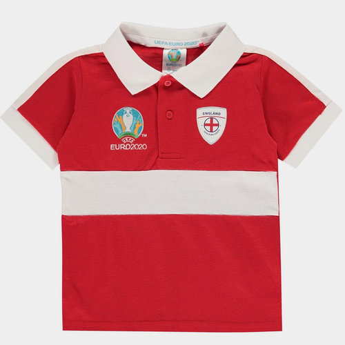Euro 2020 England Polo Shirt Infants