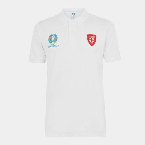 Euro 2020 England Polo Shirt Mens