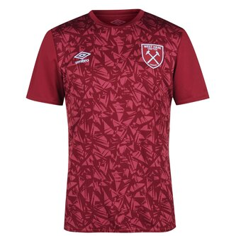 West Ham Pre Match Shirt 20/21 Mens