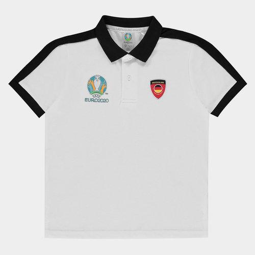 Euro 2020 Germany Polo Shirt Junior Boys