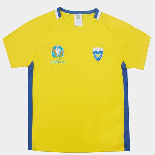Euro 2020 Ukraine Poly Top Juniors