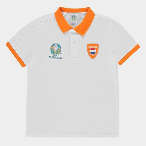 Euro 2020 Holland Polo Shirt Junior Boys