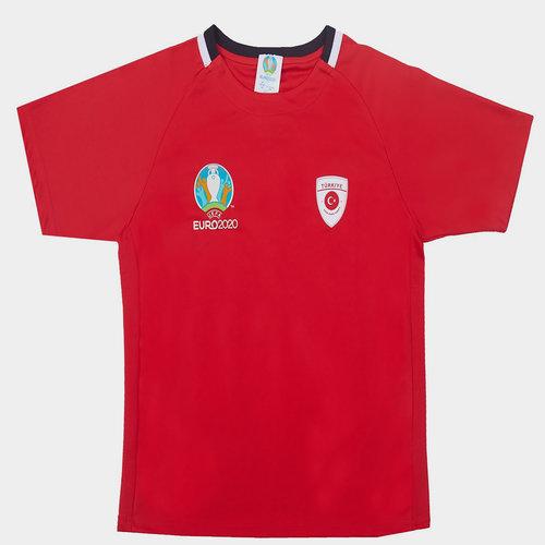 Euro 2020 Turkey Poly Tee Juniors