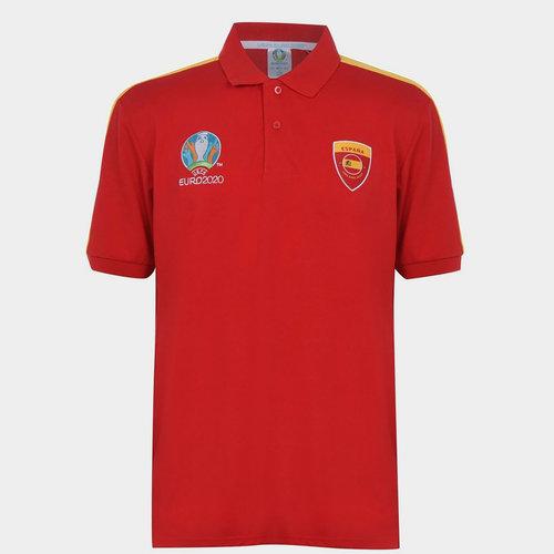 Euro 2020 Spain Polo Shirt Mens