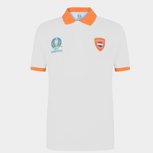 Euro 2020 Holland Polo Shirt Mens
