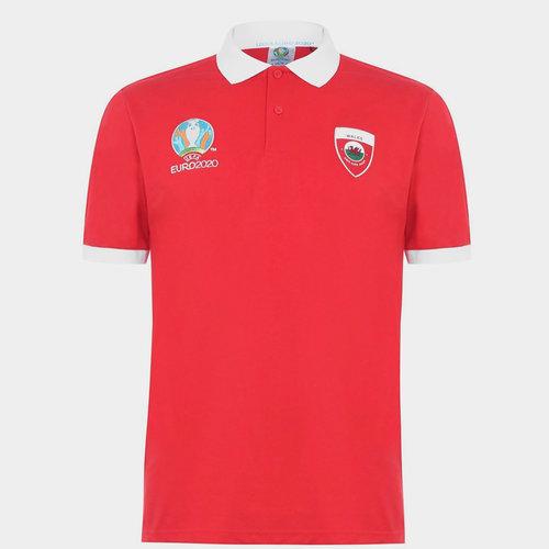 Euro 2020 Wales Polo Shirt Mens