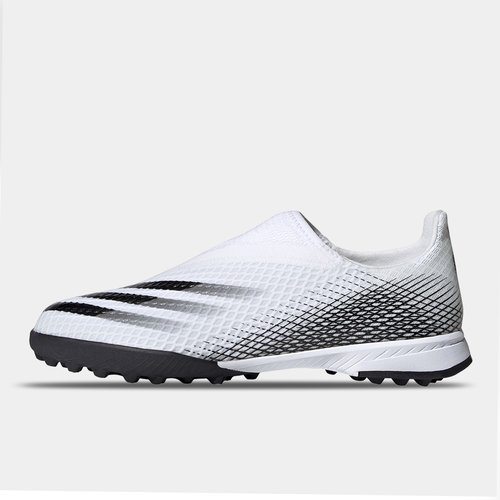 X Ghosted .3 Laceless Childrens Astro Turf Trainers