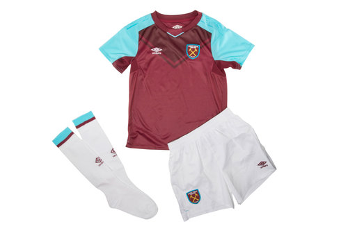 West Ham United 17/18 Home Kids Replica Football Kit