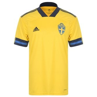 Sweden 2020 Home S/S Football Shirt