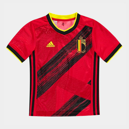 Belgium 2020 Kids Home S/S Football Shirt