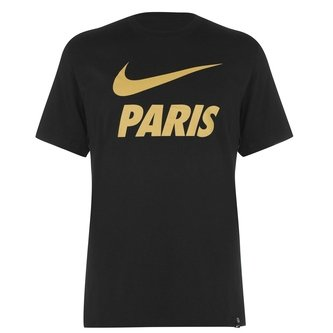 PSG Training T Shirt Mens