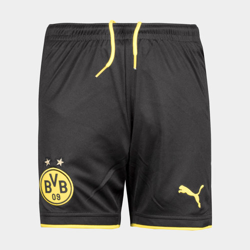 Borussia Dortmund 17/18 Kids Home Football Shorts