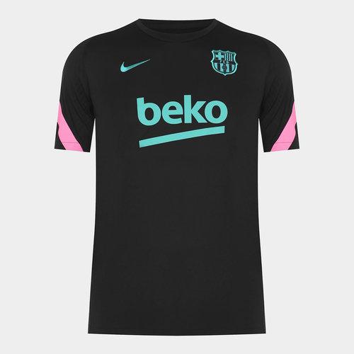 Barcelona European Strike T Shirt 20/21 Mens