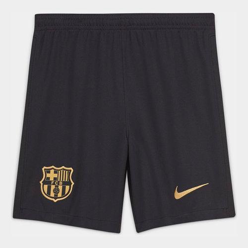 Barcelona Away Shorts 20/21 Kids