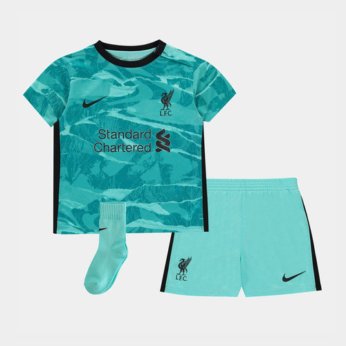 Liverpool Away Baby Kit 20/21