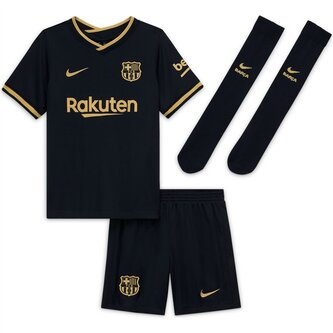 Barcelona Away Mini Kit 20/21