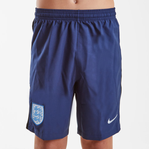 England 17/18 Kids Away Stadium Football Shorts