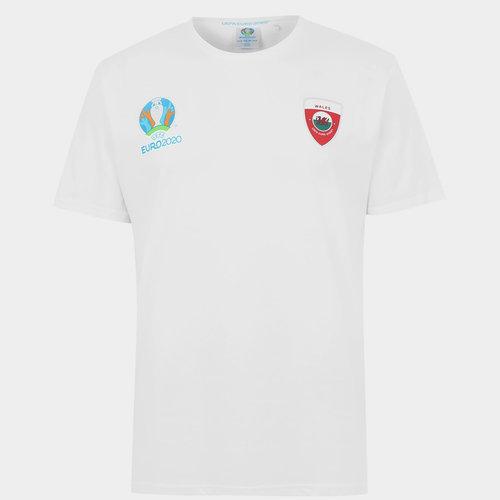 Euro 2020 Wales T Shirt Mens