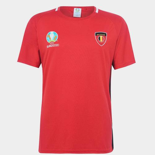 Euro 2020 Belgium T-Shirt Mens