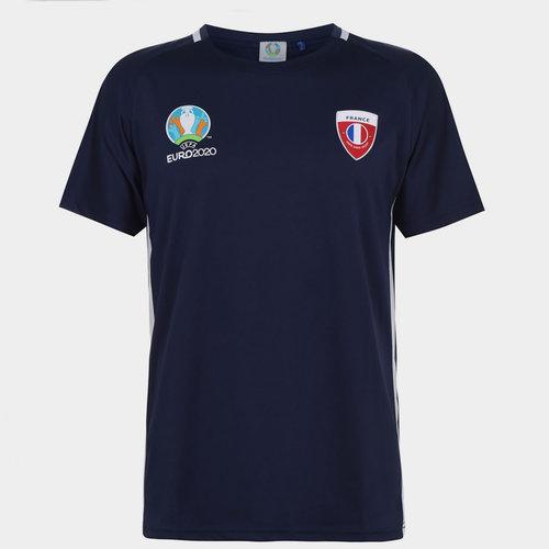 Euro 2020 France T Shirt Mens
