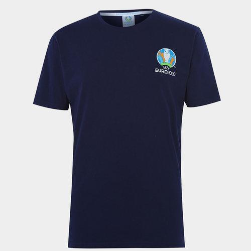 Euro 2020 Logo T Shirt Mens