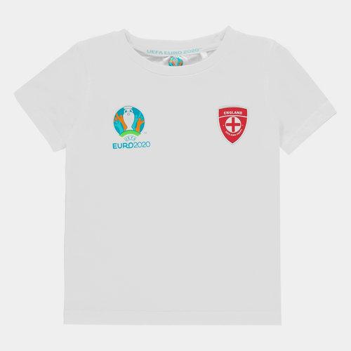 Euro 2020 England Core T Shirt Infants