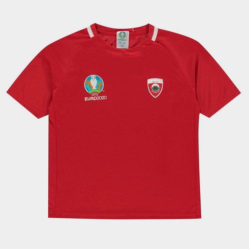 Euro 2020 Wales T Shirt Junior