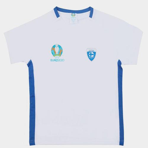 Euro 2020 Finland Polyester T Shirt Junior