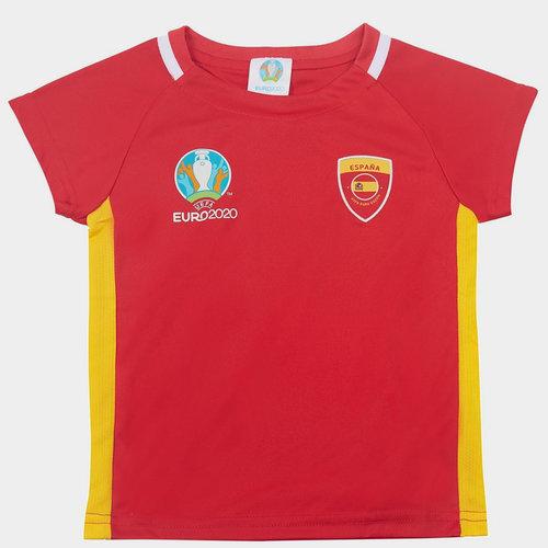 Euro 2020 Spain Core T Shirt Infant Boys