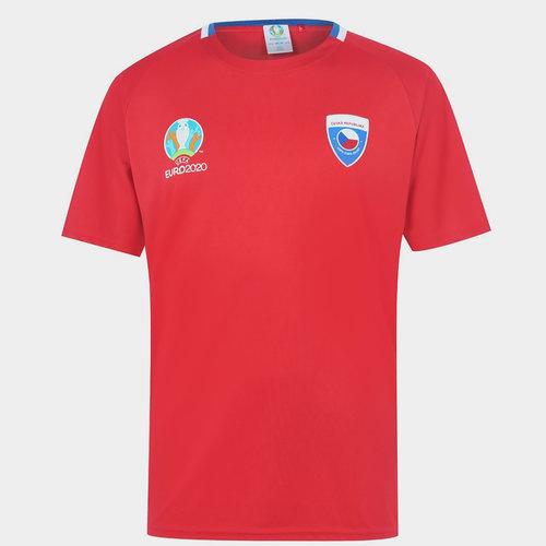 Euro 2020 Czech Republic Polyester T Shirt