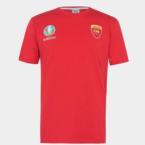 Euro 2020 Spain Core T shirt Mens